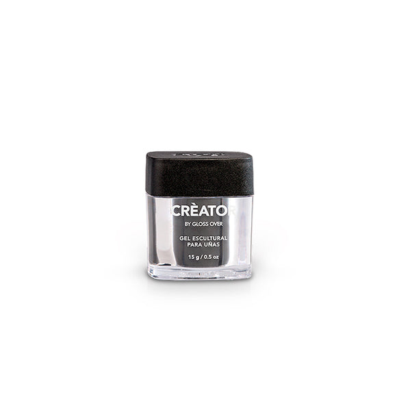 Gloss Over Gel Escultural Para Uñas Créator Clear 15g - Kokoro MX