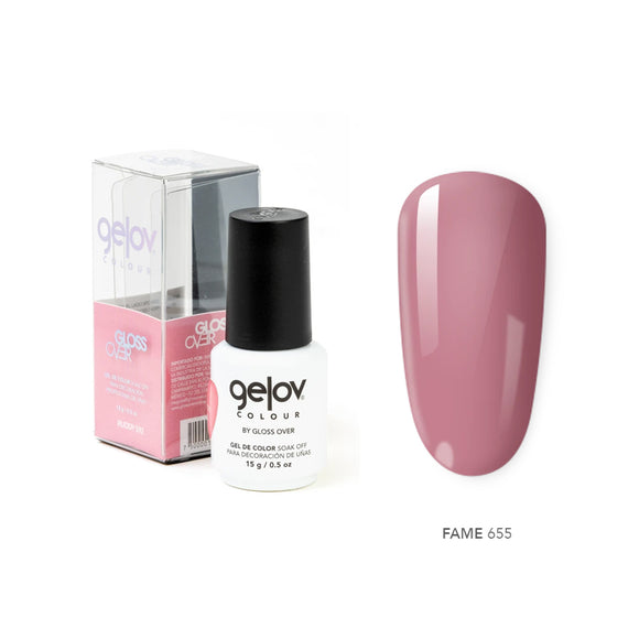 Gloss Over Gel De Color Para Uñas Gelov Colour Fame 655 - Kokoro MX