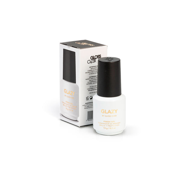 Gloss Over Gel De Uñas Termindo Máximo Brillo Glazy 15g - Kokoro MX