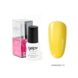 Gloss Over Gel De Color Para Uñas Gelov Colour Marango 690 - Kokoro MX