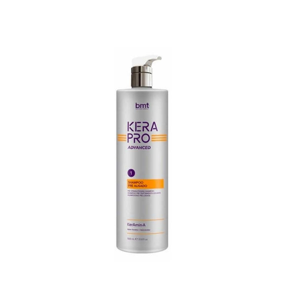 Shampoo Keratina Pre Alisado BMT Kerapro Advanced 1000ml - Kokoro MX