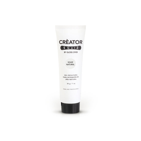 Gloss Over Gel Extensión Para Uña Natural Squiz Natural 30g - Kokoro MX