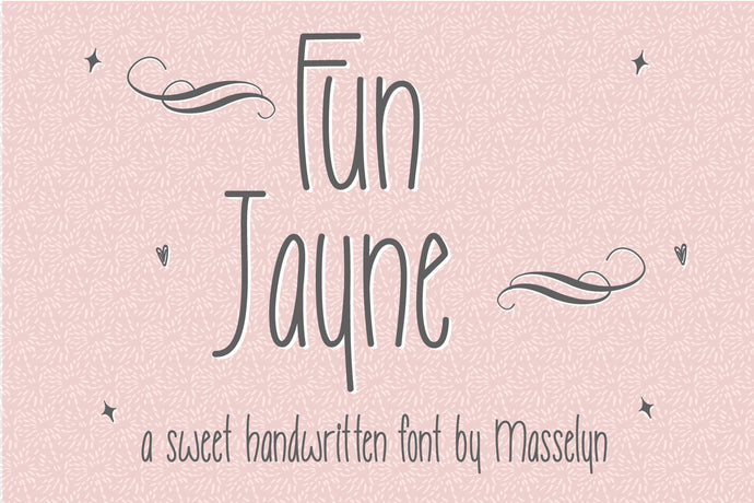 Fun Jayne - Casual & Fun Font