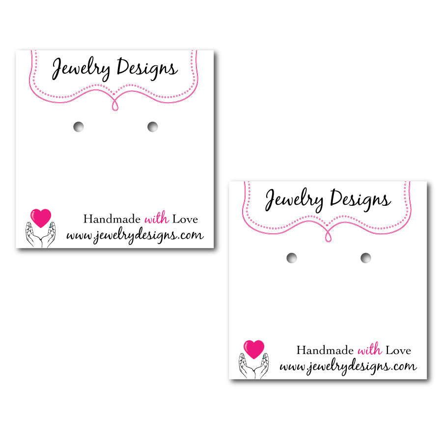 Handmade Earring Cards