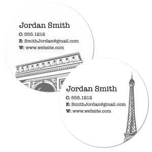 Jetsetter Circle Cards