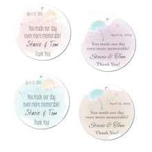 Load image into Gallery viewer, Watercolor Wedding Tags