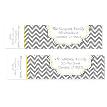 Load image into Gallery viewer, Chevron Modern Wrap Address Labels