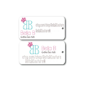 Personalized Mini Tags - Customize your own!