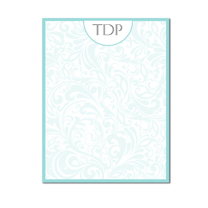 Elegant Monogram Notecards