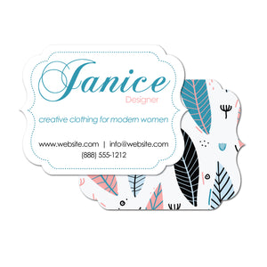 Fun Feathers Unique Business Cards