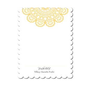 Lace Notecards