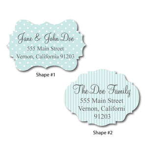 Diecut Frame Address Labels