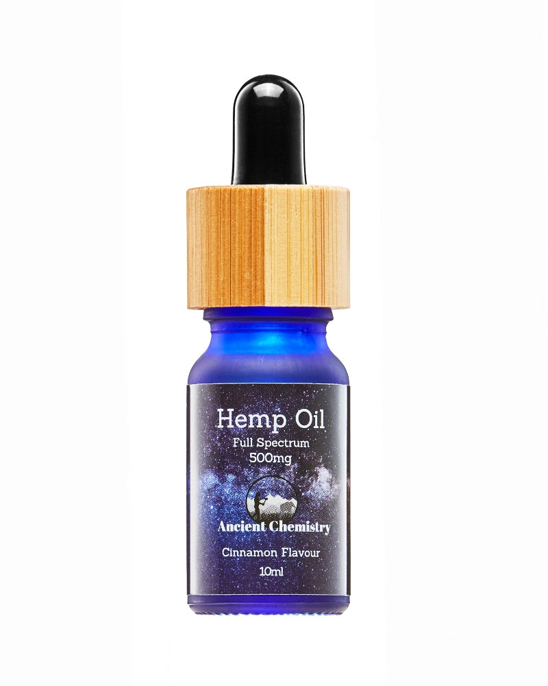 5% Full spectrum Hemp Oil Cinnamon flavour - 500mg - GETCBD