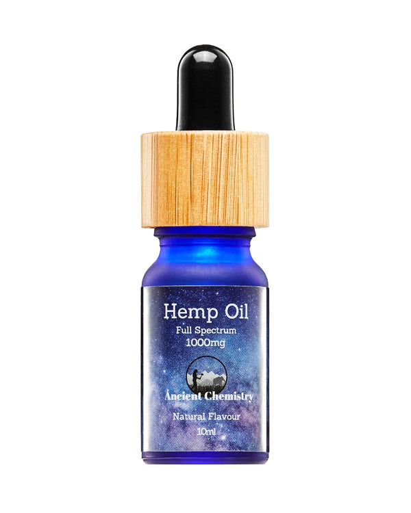 10% CBD Full spectrum Hemp Oil Natural flavour - 1000mg - GETCBD