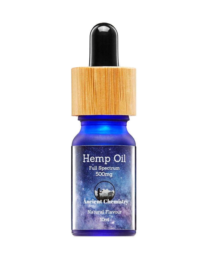 2 PACK of 5% CBD Hemp Oil Natural flavour - 500mg x2 - GETCBD