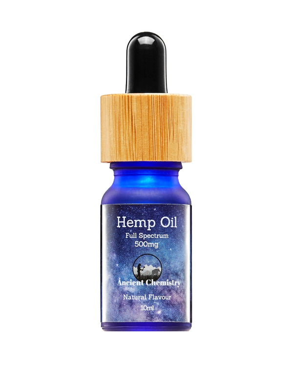 5% CBD Full spectrum Hemp Oil Natural flavour - 500mg - GETCBD