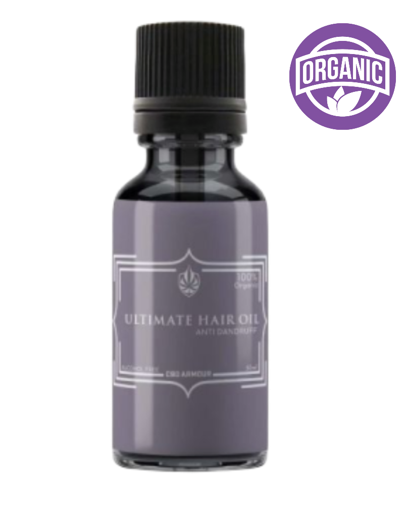 ULTIMATE HAIR OIL - NOURISH & REJUVENATE - GETCBD