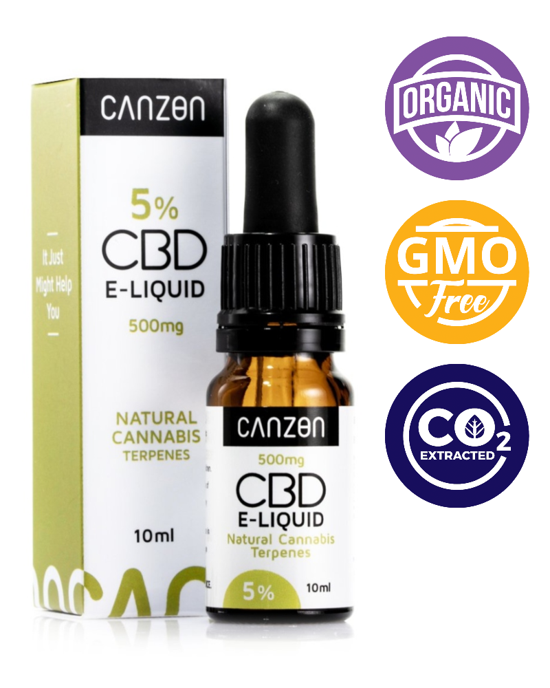 Natural Cannabis CBD E-Liquid - 500 mg - GETCBD
