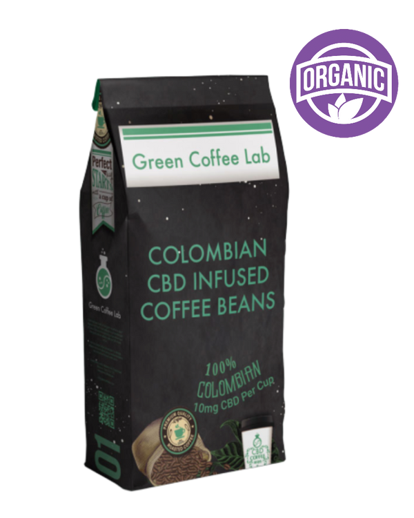 Green Coffee Lab Coffee Beans 1kg - GETCBD