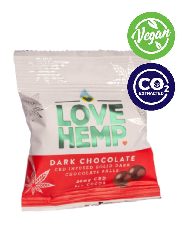 CBD CHOCOLATE BITES - 20 mg - GETCBD