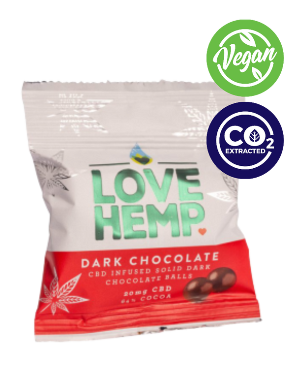 12 x CBD CHOCOLATE BITES - 20 mg - GETCBD