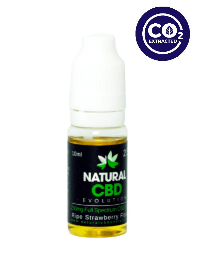 CBD E-Liquid Ripe Strawberry Flavour - GETCBD