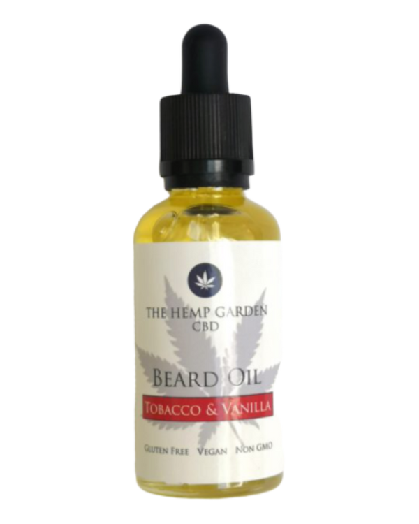 Hemp Beard Oil – Tobacco & Vanilla – 60ml - GETCBD