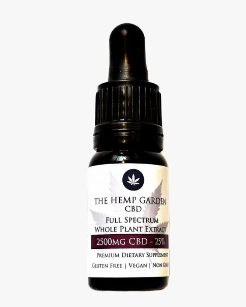 Full Spectrum CBD Oil 25% – 2500mg - GETCBD