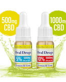 Lemon & Lime Oral Drops - GETCBD