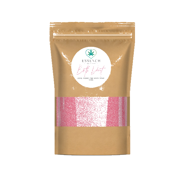 Love Bath Dust Soaking Salts - 100mg CBD