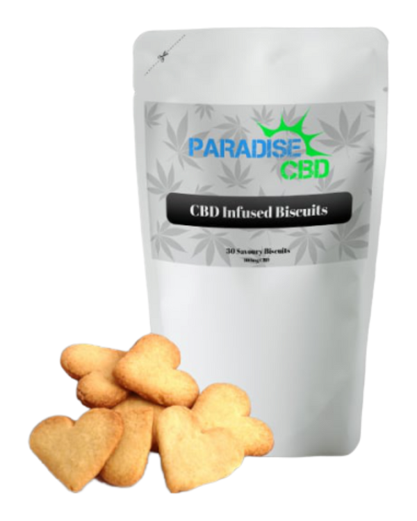 CBD Infused Savoury Biscuits - 100 mg - GETCBD