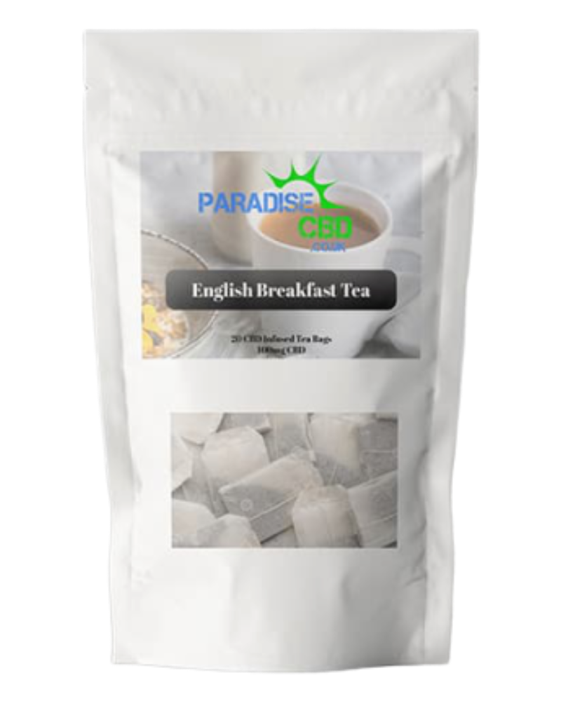 CBD English Breakfast Tea - 100 mg - GETCBD