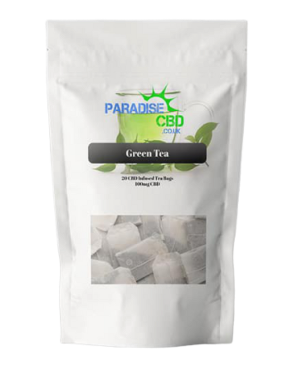 CBD Infused Green Tea - 100 mg - GETCBD