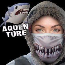 Load image into Gallery viewer, Face Mask - Shark | Aquenture