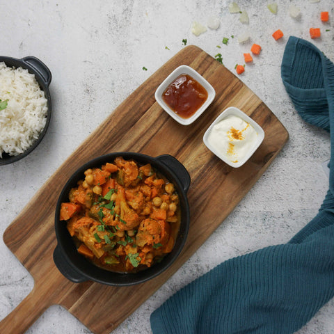 South Indian Vegetable Curry Meat-free Recipe //PreppedFRESH