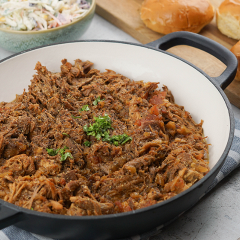 Pulled Pork quick and easy Recipe // PreppedFRESH