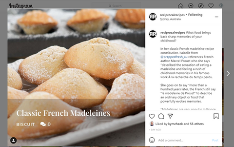 Reciprocal Recipes French Madeleines by PreppedFRESH