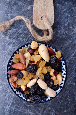Studentenhaver naturel | noten & fruit | per 250gr