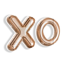 Balloon XO (Rose Gold)
