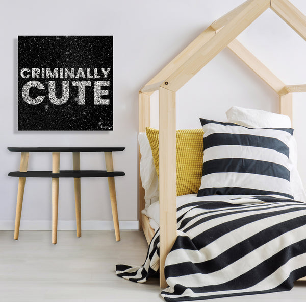 Criminally Cute (Black)