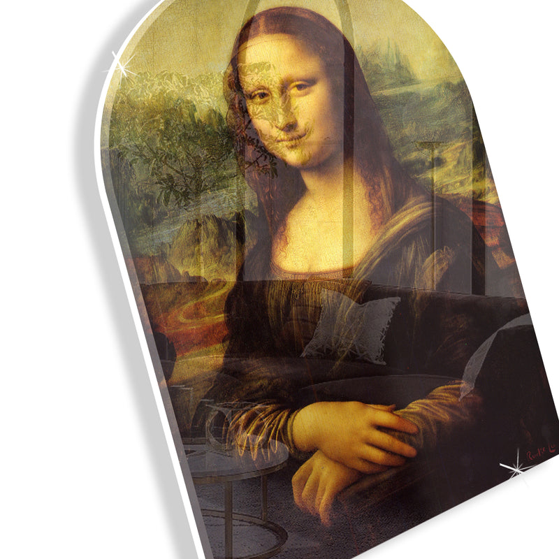 Mona Lisa Remixed (Arched)