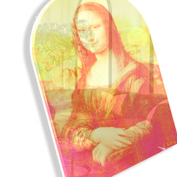 Mona Lisa Remixed (Yellow) (Arched)