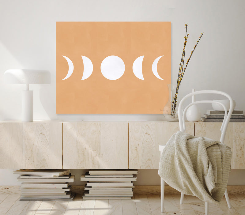 Moon Phases (White) (Neutral)