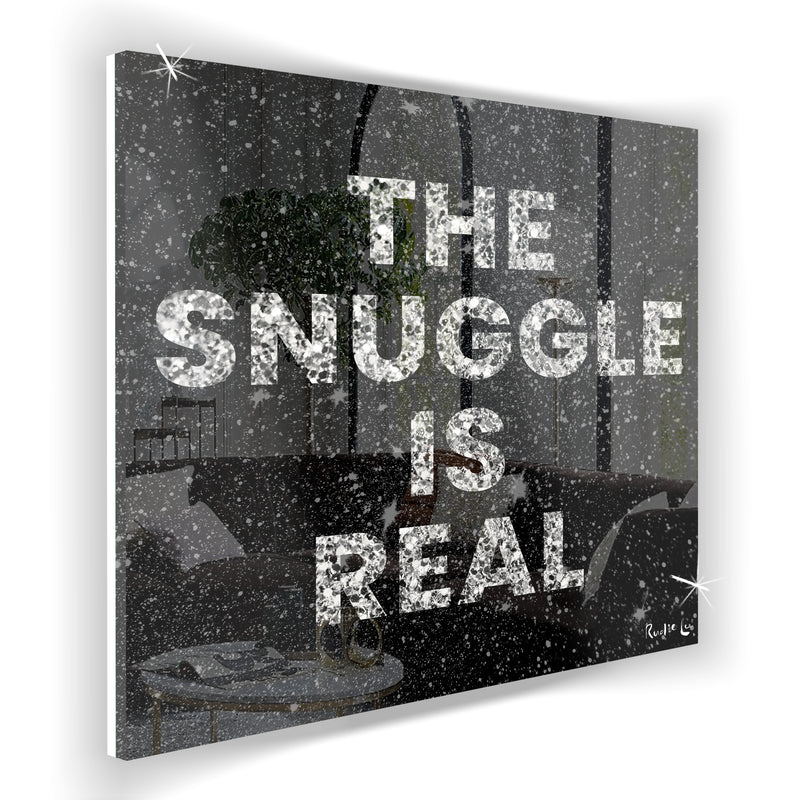 Snuggle is Real (Black)