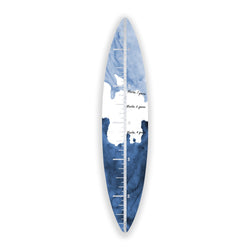 Surfboard Growth Chart (Indigo Waves No. 02)