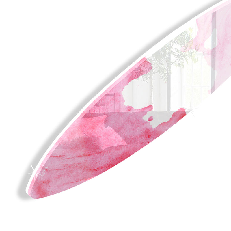Surfboard (Pink Waves No. 02)