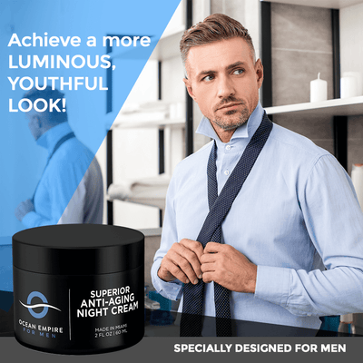 Superior Anti-Aging Night Cream For Men