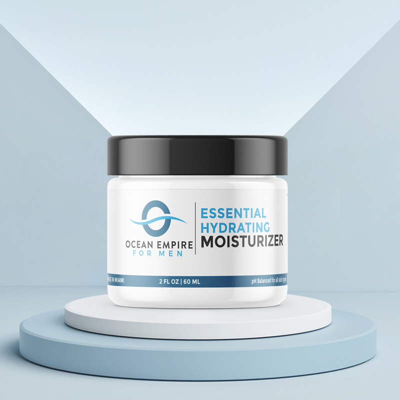 Ocean Empire Essential Hydrating Moisturizer & After Shave Balm For Men. From Brickell, Miami.