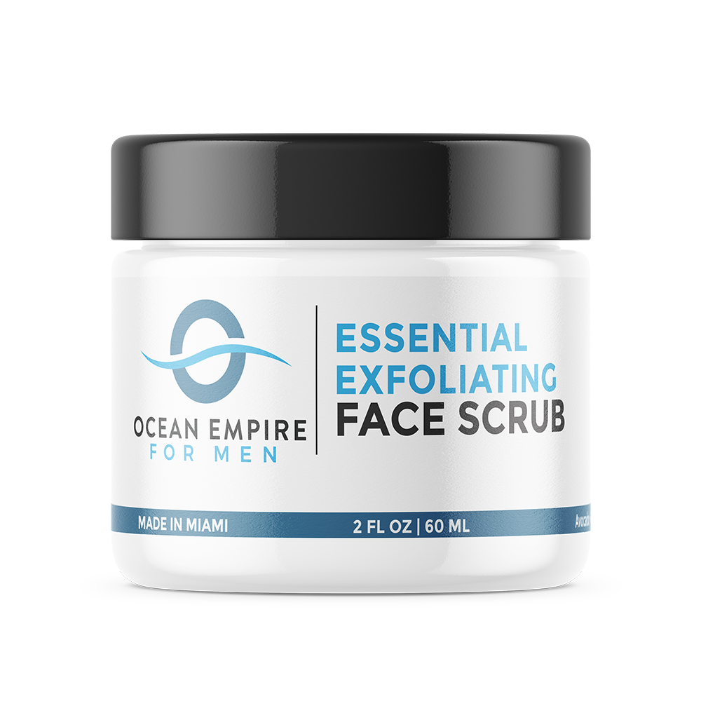 Ocean Empire Exfoliating Face Scrub For Men. From Brickell, Miami