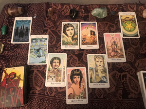 Seven-Card Advice Reading
